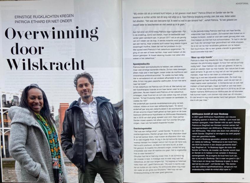 Artikel Alphens Magazine